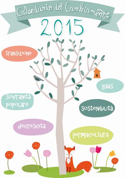 calendario cambiamento 2015