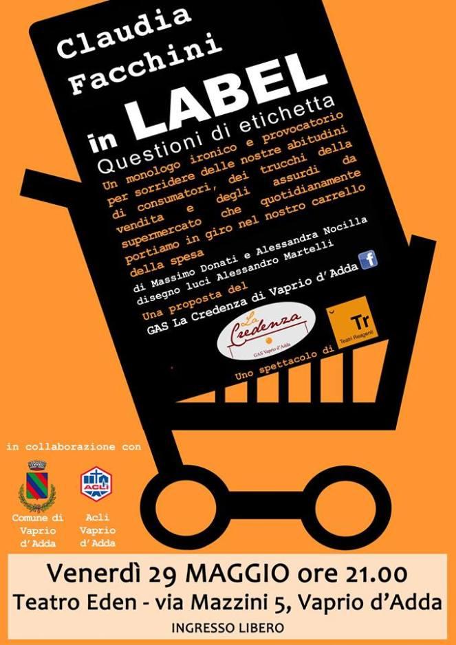 label questioni di etichetta - locandina